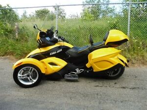 2009 can-am spyder -