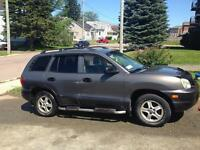 2003 Santa Fe only $2000.00,new MVI,Clean,Priced for Quick Sale