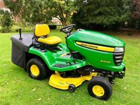 "John Deere X305R Ride on Mower - 42"" mower deck - Lawn Tractor - only 81 hours"