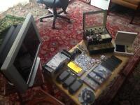 Huge bundle consoles,samsung,watches ,Armani etc