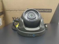 CCTV HD CAMERA 2.8mm FIXED LENS AHD-TVI-CVBS OSD 20M IR MINI DOME 2.0mp