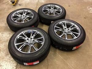 "18"" Jeep Replica Wheels 5x110 and All Season Tires 225/60R18 (JEEP CHEROKEE)"