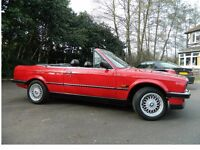 BMW E30 325i CONVERTIBLE. LOW MILAGE.