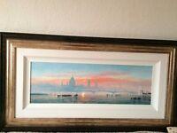 3 xAndrew Grant Kurtis original oil paintings