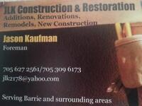 Skilled good quality carpenter available!