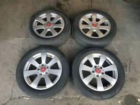 "Genuine Mercedes 16"" E Class Alloy wheels"