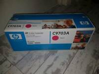 New Original HP C9703A magenta toner cartridge RRP £63