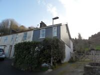2 Bedroom End of Terrace House with Parking, conveniently located for Dartmouth Town Centre