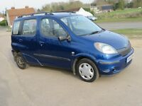 toyota yaris verso 2001 cheap run about