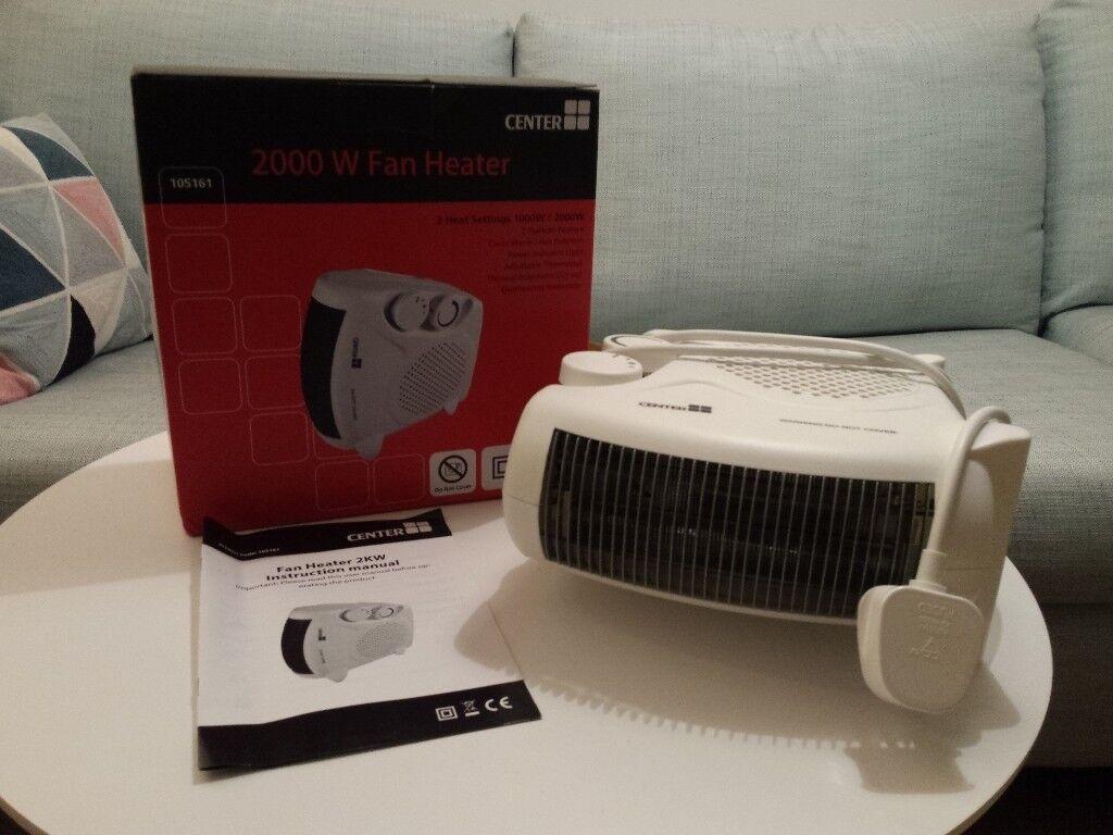 Fan Heater 2000w | in Clapham, London