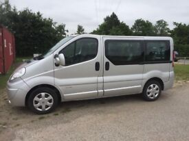2008 RENAULT TRAFFIC 2.0 DCI SL27 SPORT 9 SEAT MINIBUS. NO VAT! FANTASTIC CONDITION AND LOW MILEAGE!