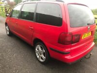 Breaking 2004 SEAT Alhambra 1.9 tdi Stylance 130 bhp, most parts available except for gearbox