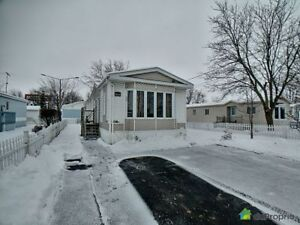 114 900$ - Maison mobile à vendre à St-Jacques-Le-Mineur