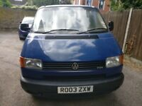 SOLD VW T4 TRANSPORTER 2003 SWB 2.5 TDI (102)
