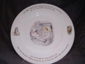 BEATRIX POTTER Tiggy Winkle dinner plate