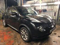 Nissan Juke 1.6 Tekna XTRONIC CVT 5dr£10,485 p/x welcome 1 YEAR FREE WARRANTY. NEW MOT