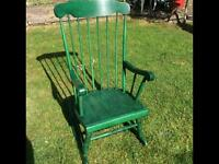 Beautiful Solid Pine Rocking Chair