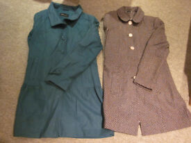18 x various womens jackets (fashion, long & short length, hooded etc..), size 10 & 12