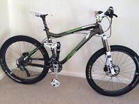 Trek fuel ex 8 alpha aluminium full suspension mountain bike 2011