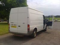 Man and van - Pickups, deliveries and light removals