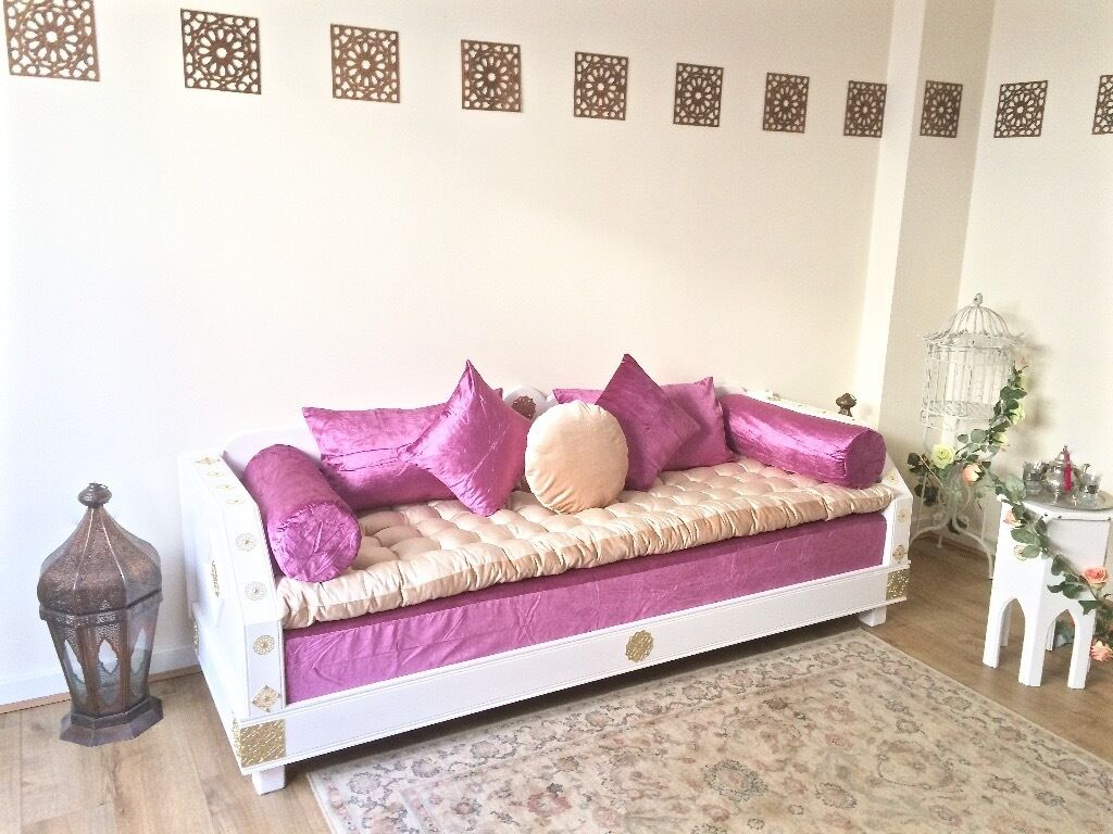 Luxurious Moroccan Sofa Couch Corner Suite Majlis Bench
