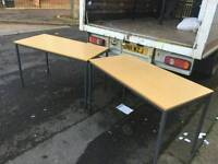 2 beech wood tables £20 a peiceONLY 1 LEFT