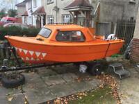 14 foot cabin boat