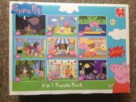 Peppa Pig Puzzle pack