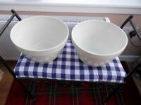 Giant pudding bowls