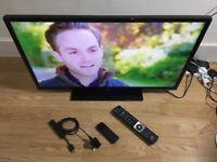 "IMMACULATE 32""JVC SMART LED 1080P HDTV"