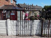 Wrought iron gate / Garden gate / Metal gate / Steel gate / House gate / Side gate / Entry gate