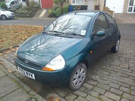 Ford ka collection 3 door with full service history 10 stamps.