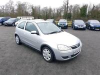Corsa 1.2L design 2004 low mileage 1 year mot service history excellent condition