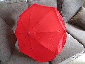universal sun parasol for pram, pushchair, stroller