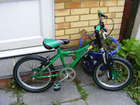 "RALEIGH 16"" WHEEL BOYS BIKE IN GREAT WORKING ORDER AGE 4-7"