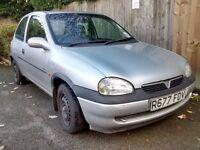 Vauxhall Corsa - 1.4 Petrol 1998 Silver
