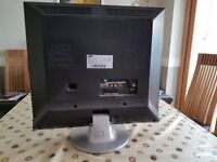 Samsung LW20M21C LCD TV. With stand and Freeview Box.