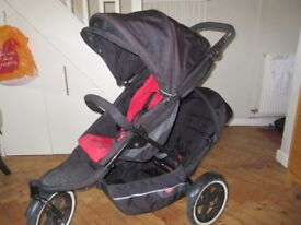 Phil & Ted Explorer double buggy