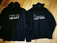 Couple Premium Quality Hoodies