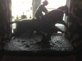 ANTIQUE BRONZE ,BY RUILLE 38 inches by 26 inches