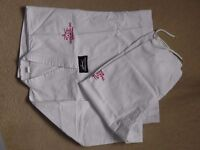 Taekwondo White Uniform Dobok Size 130