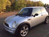 2003 03 Mini One 1.6 Petrol **Spares Or Repairs** Cat C 80k Full MOT Noisy Gearbox