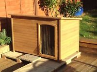 WOODEN DOG KENNEL X X LARGE - ONLY 2 MONTHS OLD