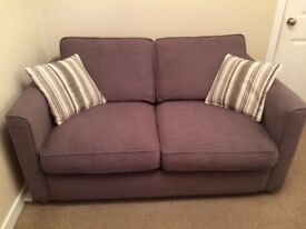 Metal action sofa bed. Smoke free pet free home. Excellent condition.