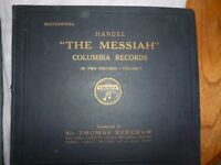 THE MESSIAH BY HANDEL AND COLUMBIA RECORDS