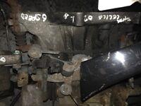 2002 Toyota Celica 1.8 6 speed gearbox