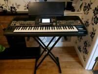 Yamaha psr 9000 v2 keyboard with stand