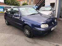 2001 51 Volkswagen Golf 2.0 Se *Convertible* *Automatic* Broad Street Motor Co