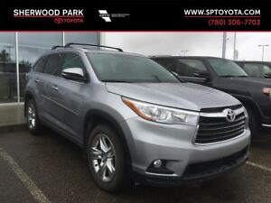 2016 Toyota Highlander Limited with Toyota Warranty Extension!