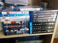 20 Blu ray discs for sale!! (Heroes Season 1,2,3+ Skyfall + The Dark Knight etc)